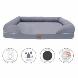 Lux by FrontPet Memory Foam Pet Lounger